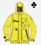 """Сноубордическая куртка MEATFLY """"URANUS"""" Арт. URANUS yellow emboss"""